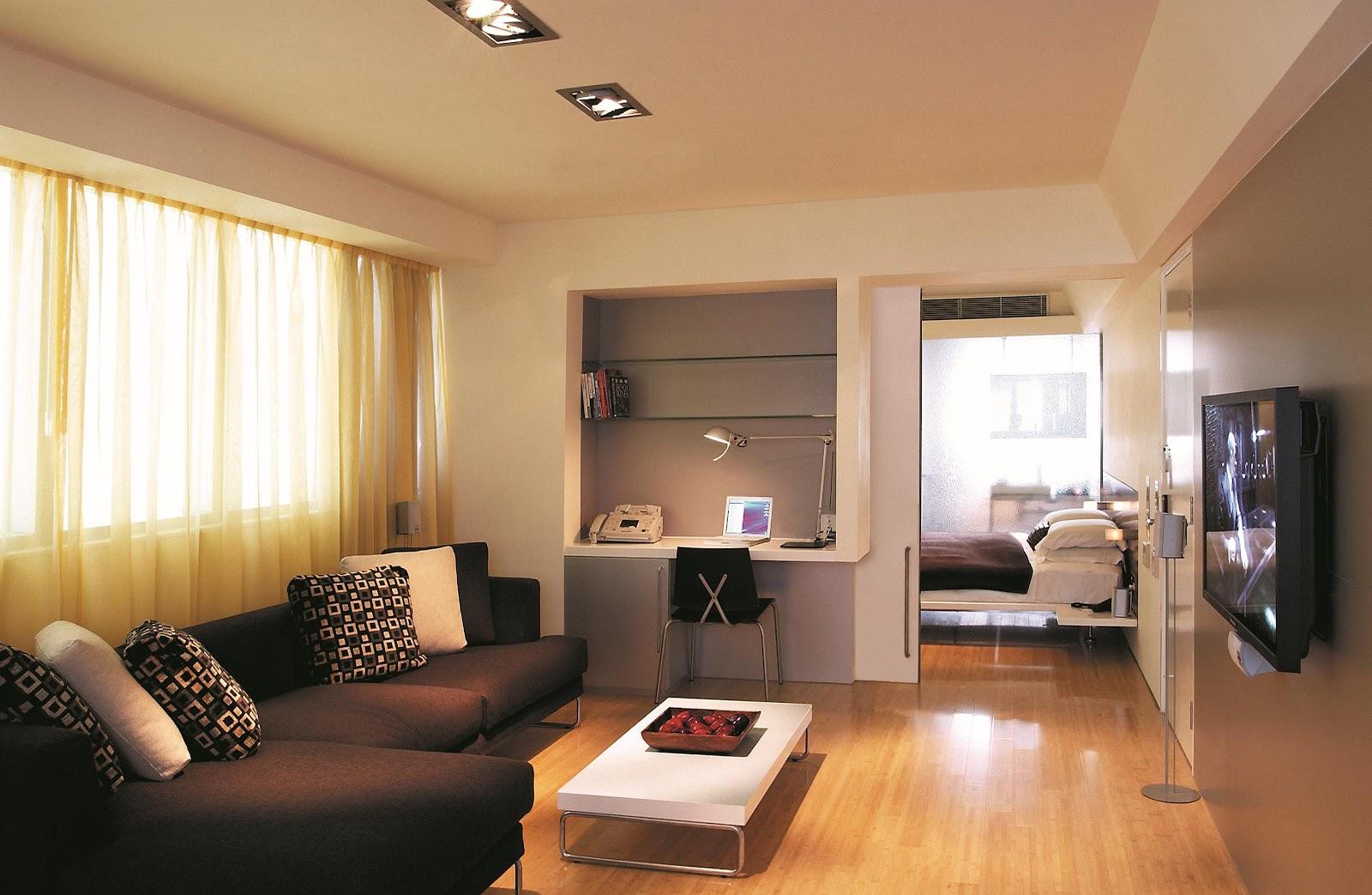 Living room, curtains, sofa, living space, interior
