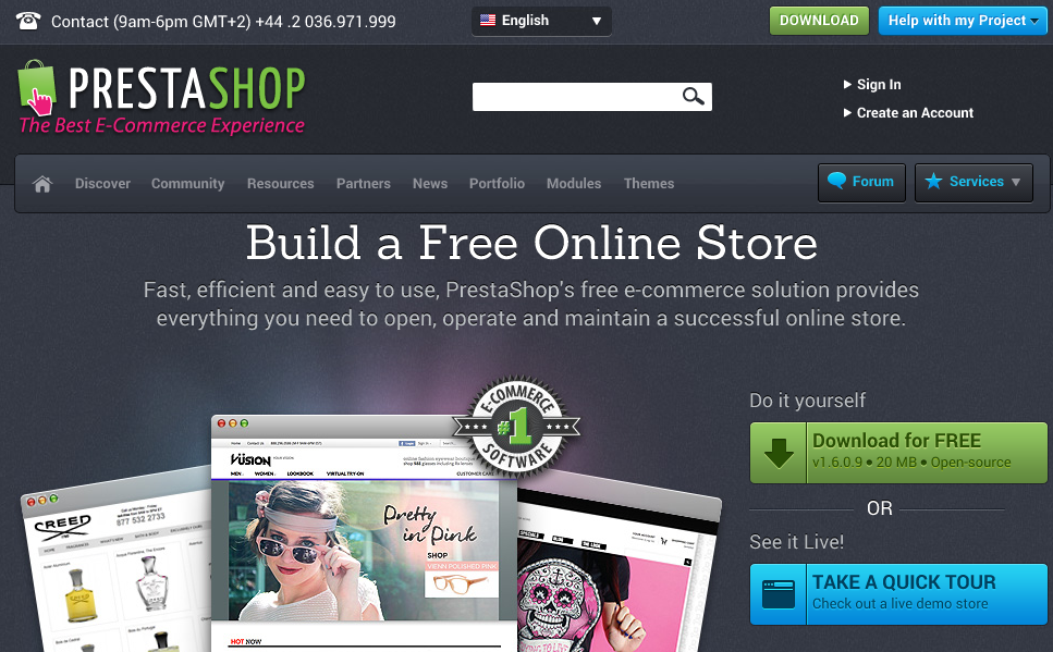 prestashop vs magento competitors