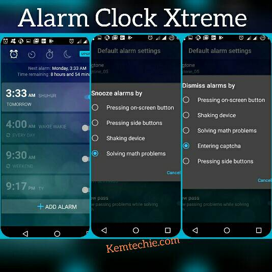 Alarm clock xtreme App for Ramadan