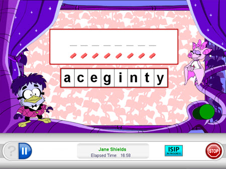 spelling isip subtest