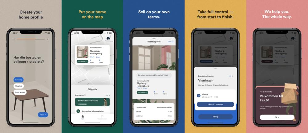 Norban's mobile app user interface