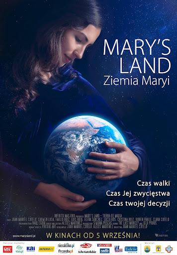 Polski plakat filmu 'Mary's Land. Ziemia Maryi'