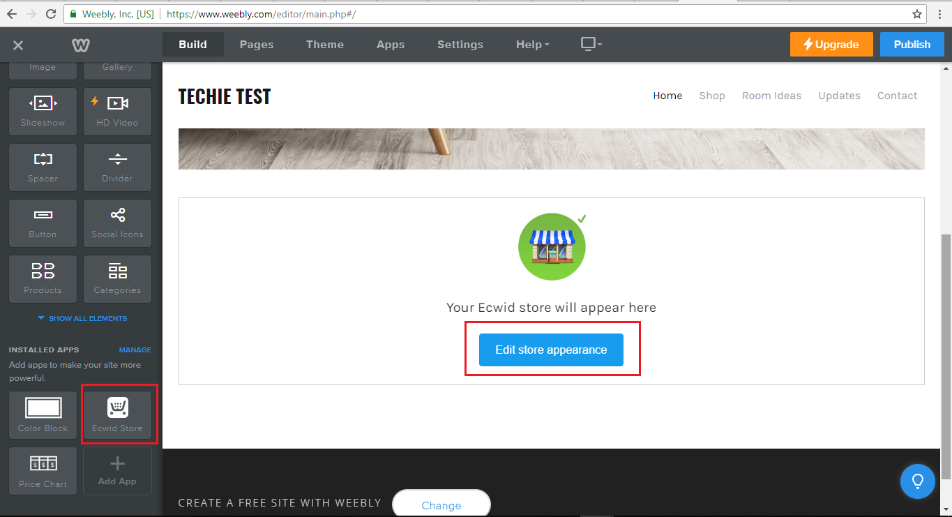 How to setup rave on Weebly - Rave Help & Support