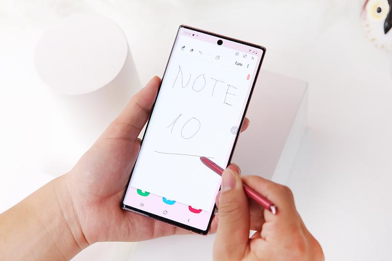 Điện thoại Samsung Galaxy Note 10 | Trải nghiệm Bút S-Pen