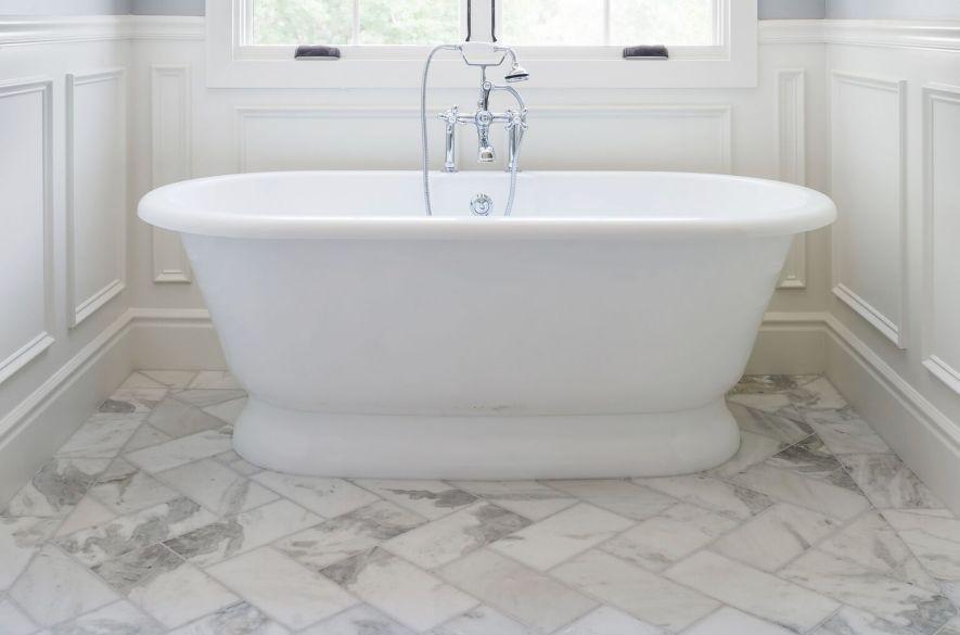 gạch phòng tắm.