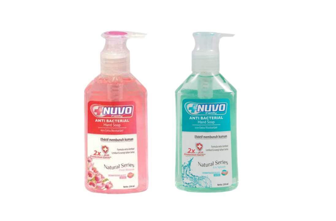 sabun cuci tangan nuvo
