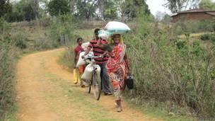 झारखंड, आदिवासी महिला