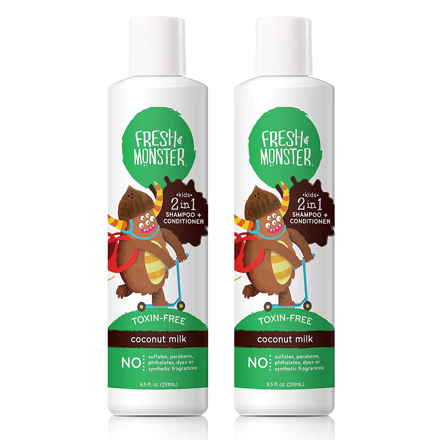 Fresh Monster 2-in-1Kids Shampoo and Conditioner