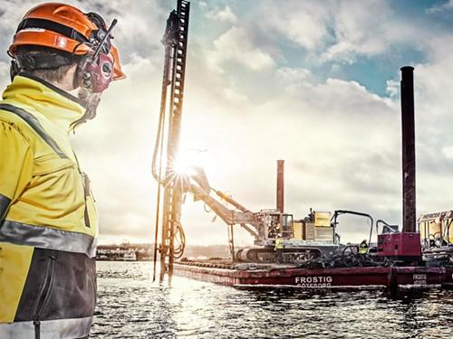 Blaklader werkkleding haven scheepvaart
