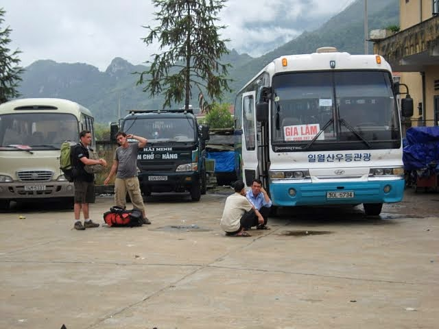 getting to sapa, bus to sapa