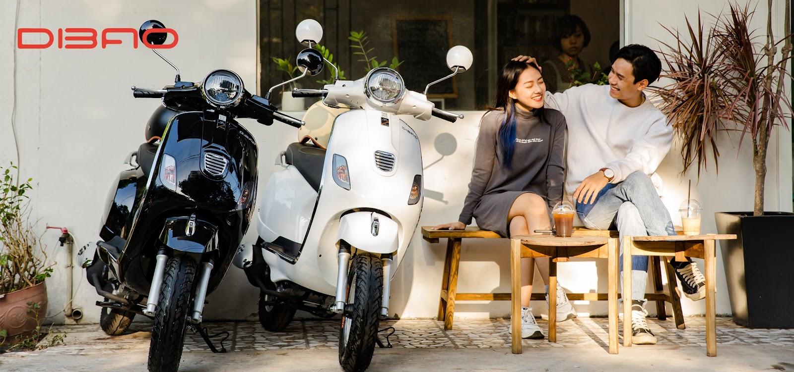 DIBAO Pansy XS xe tay ga 50cc giá rẻ, bền bỉ