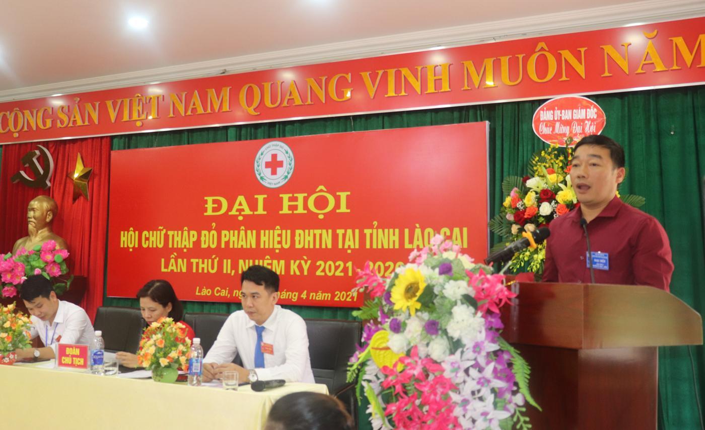 Hội Chữ thập đỏ tổ chức thành công Đại hội Lần thứ II, nhiệm kỳ 2021 – 2026