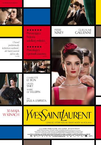Polski plakat filmu 'Yves Saint Laurent'