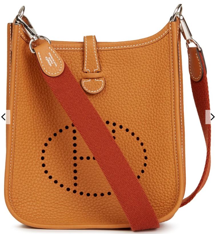 5. กระเป๋าสะพายข้าง: Hermes รุ่น Mini Evelyne 02