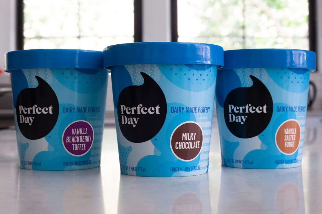 perfect day launched a lab grown ice cream