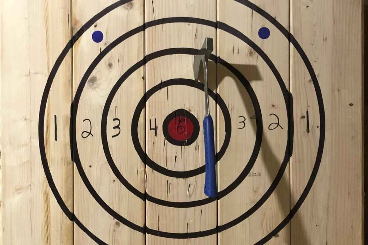 All About Axe Throwing Target