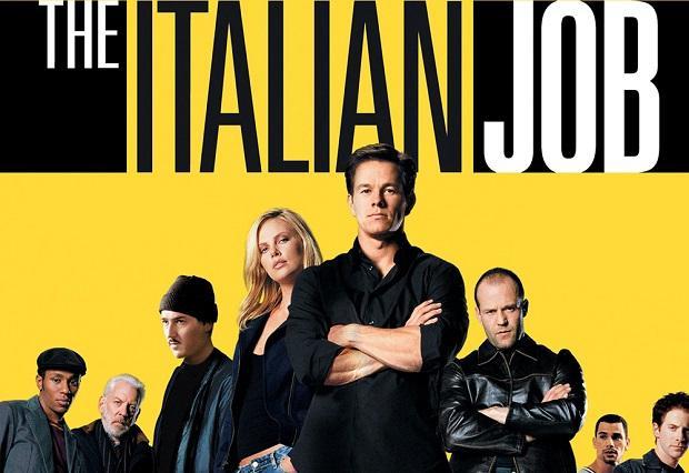 """Filmul cu masini de curse """"The Italian Job"""""""