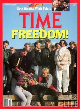 muro berlim comunismo liberdade