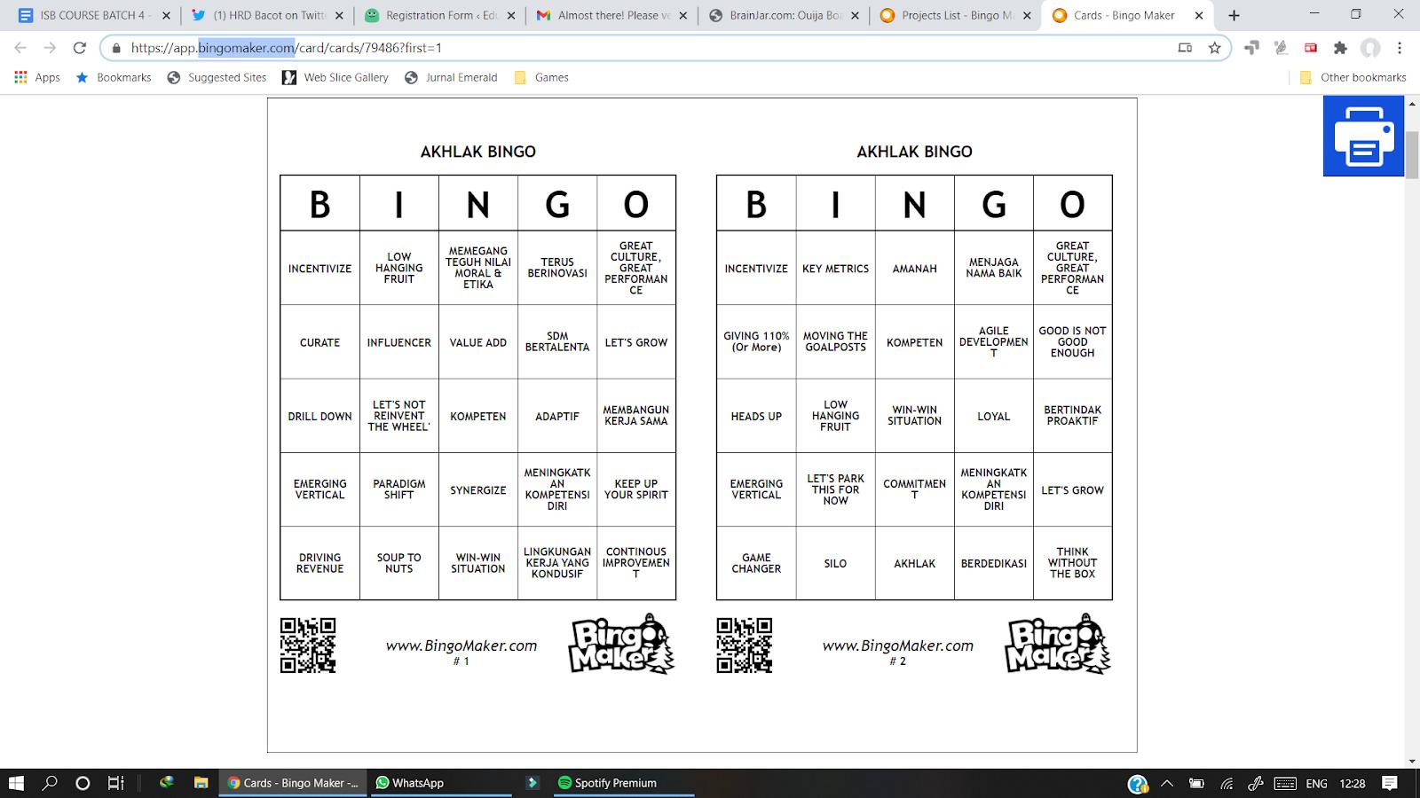 Bingo online juga bisa menjadi permainan untuk virtual meeting