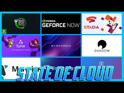 The Current State of Cloud Gaming - Sept 2020 - Overview of all cloud gaming services