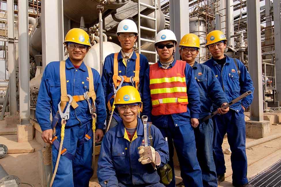 Ứng dụng dây đai an toàn trong thi công xây dựng