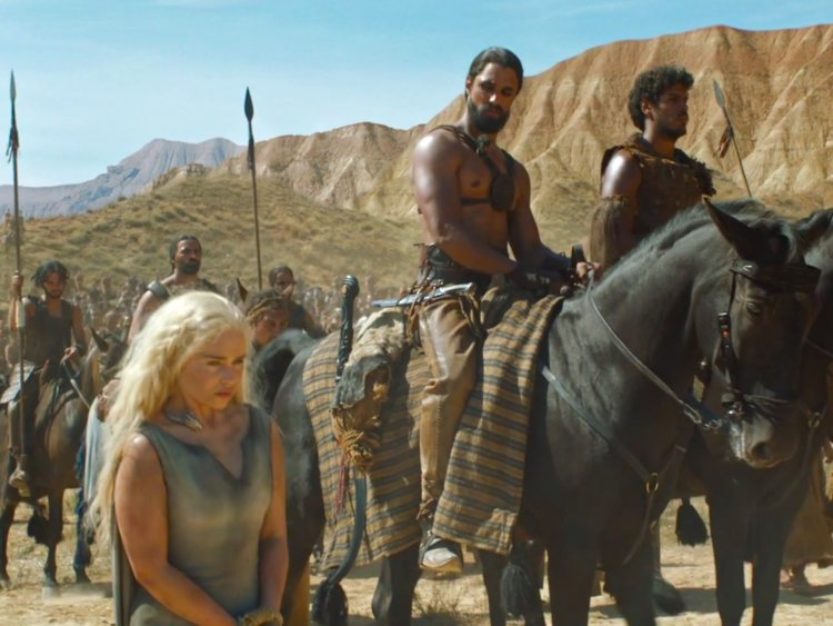 If he looked vaguely familiar, Qhono was a prominent part of Daenerys' time as a Dothraki captive on the sixth season.