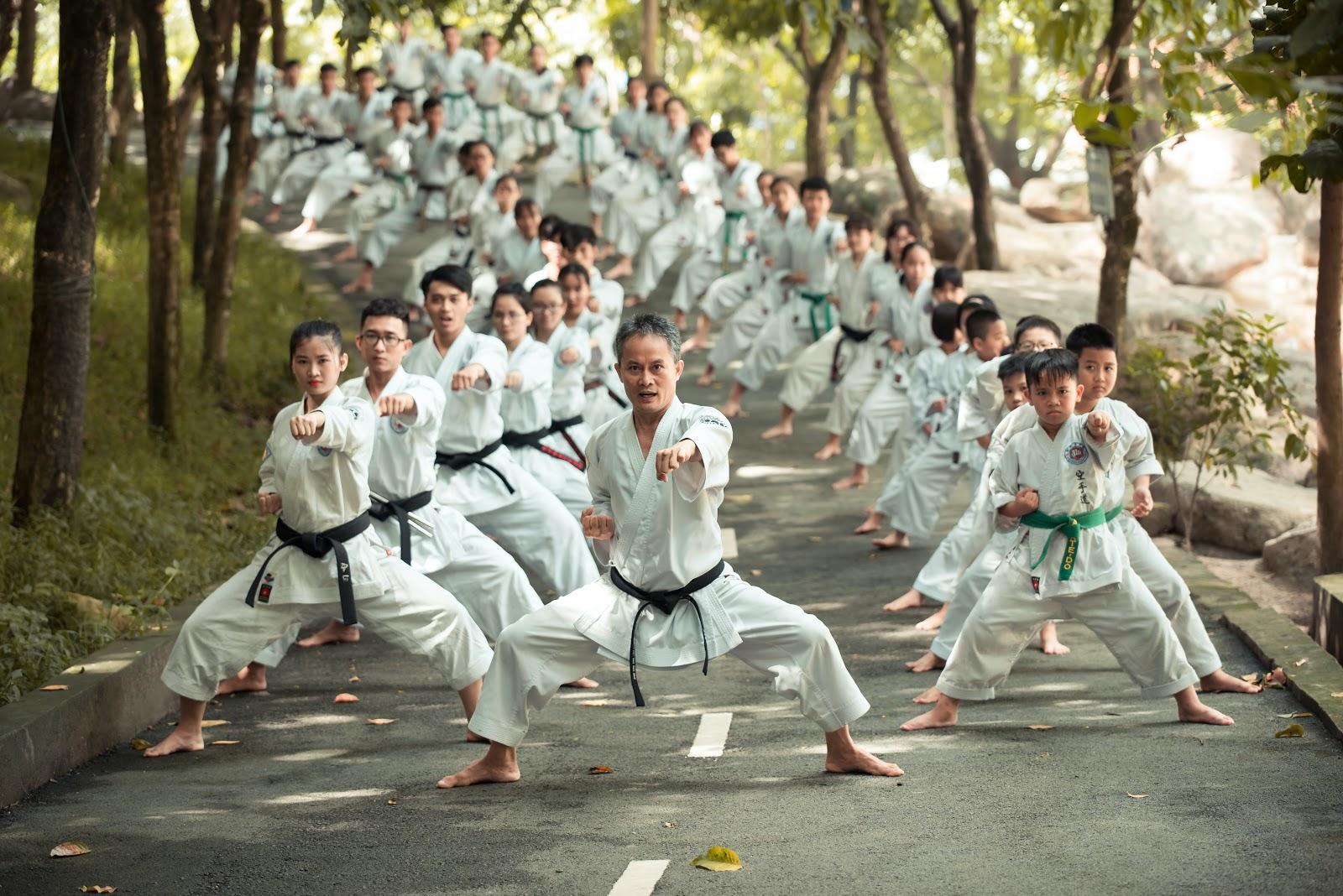 Karate Stance - Sumo Stance - Shiko Dachi