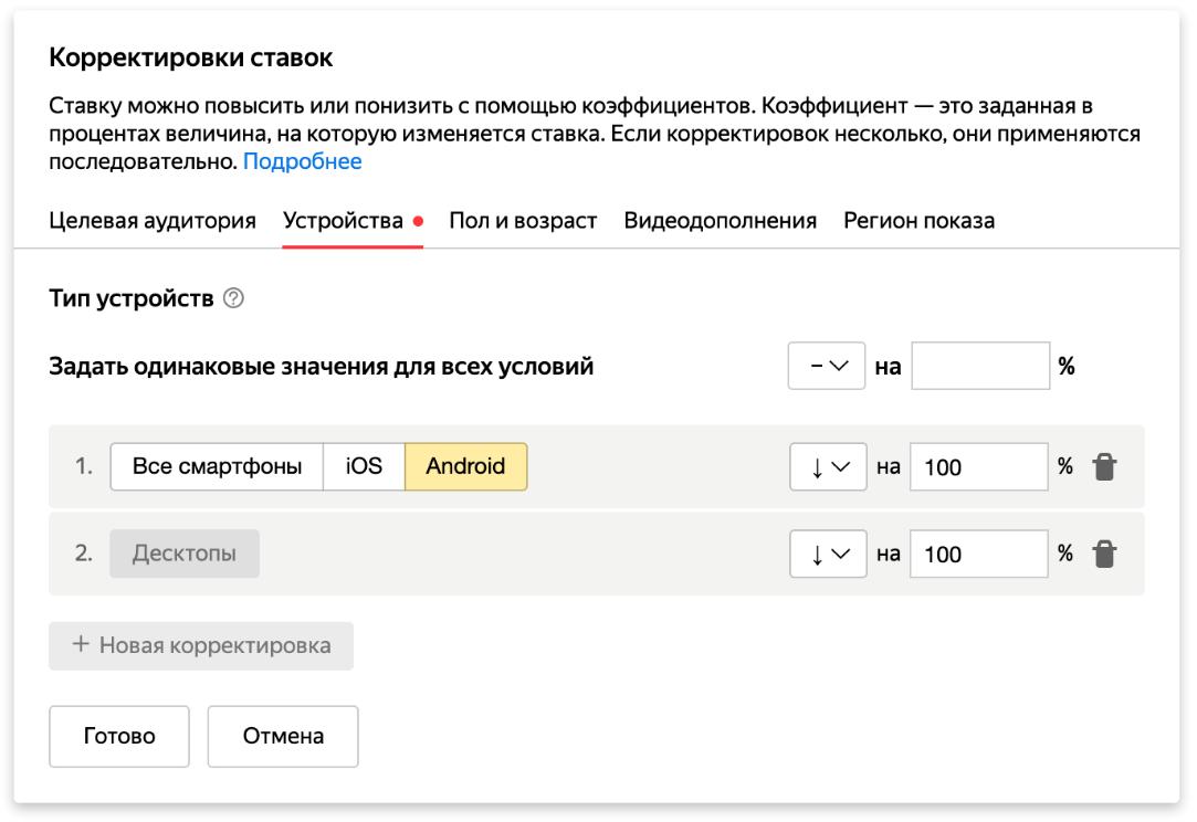 E:\РАБОТА\МЕДИАНАЦИЯ 2\2020\Дайджест 14 февраля\Корректировка ставок (Яндекс).png
