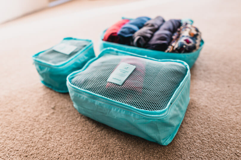 Cheap packing cubes