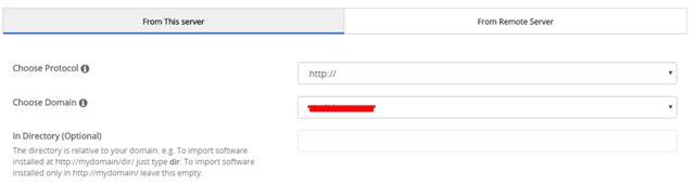 Menambahkan Website ke Softaculous