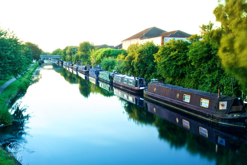 the grand union canal london