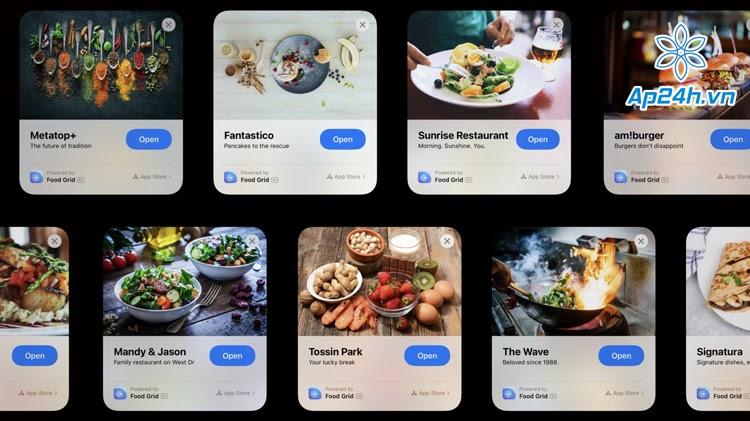 App Clips giúp thanh toán nhanh chóng