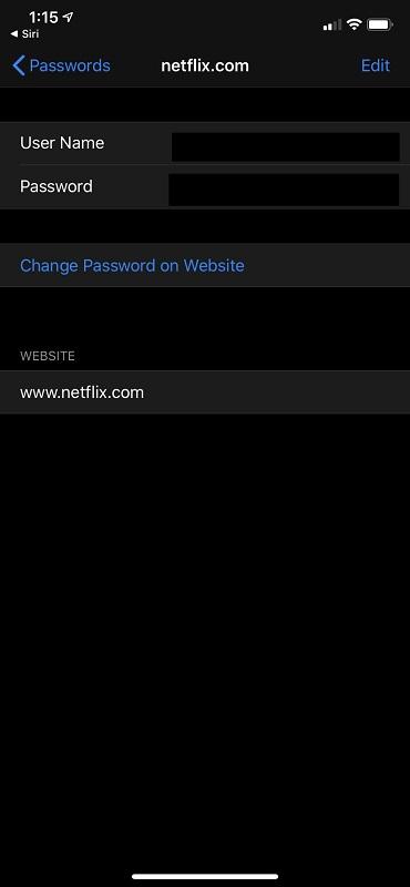 Password Entry UI