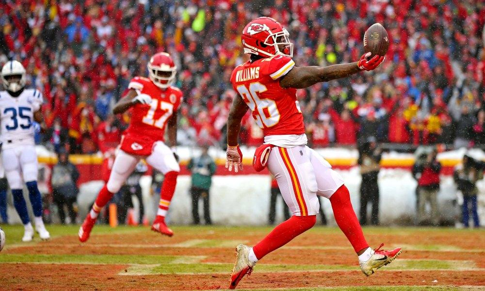 Image result for damien williams touchdown