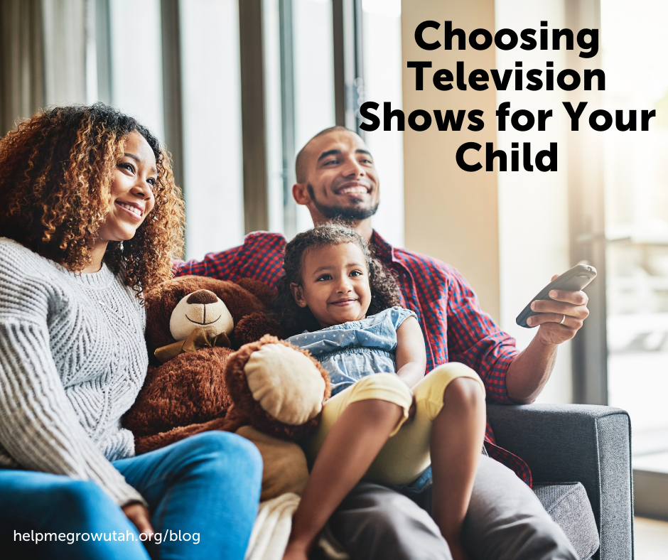 Choosing Television Shows for Your Child