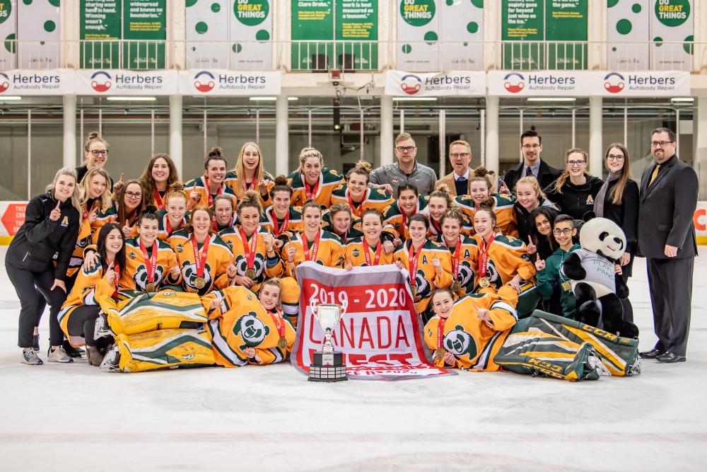 Image result for Alberta Pandas women's hockey 2019