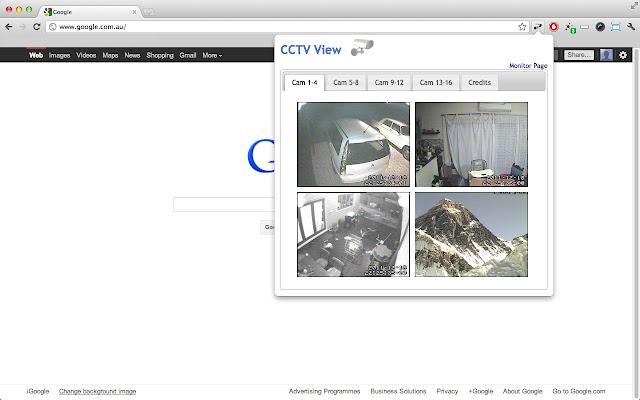 CCTV View chrome extension