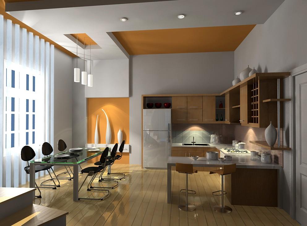 thiết kế nội thất phòng bếp chung cư tại hải phòng