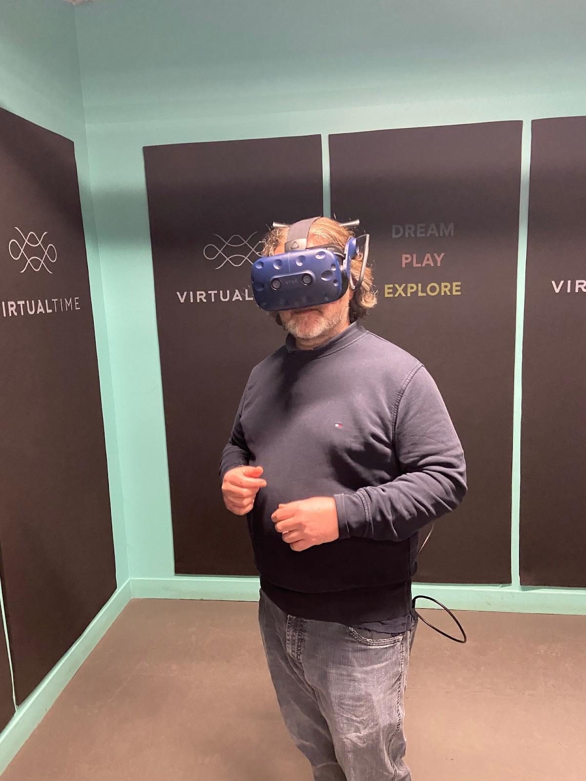 Mise en pratique de la réalité virtuelle en solo
