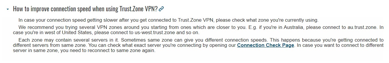 Trust Zone review - question 2