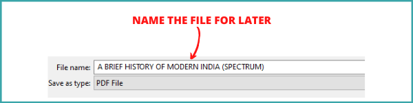 #Step3- Select the Name for your Download
