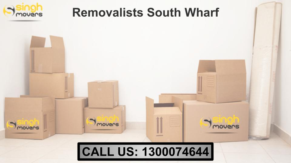 Removalists South Wharf