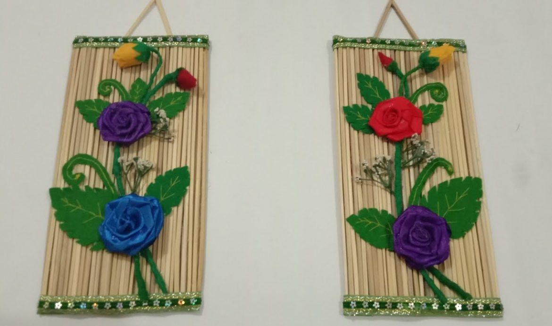 Selling handicrafts
