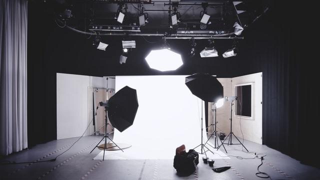 a local photography studio setup