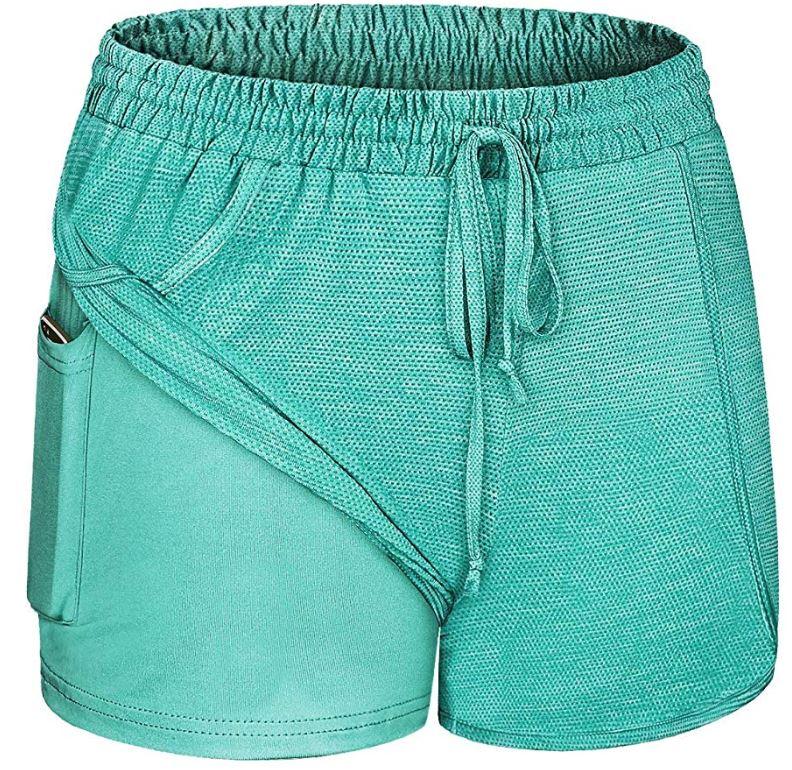 Women's workout shorts | yoga shorts | running shorts
