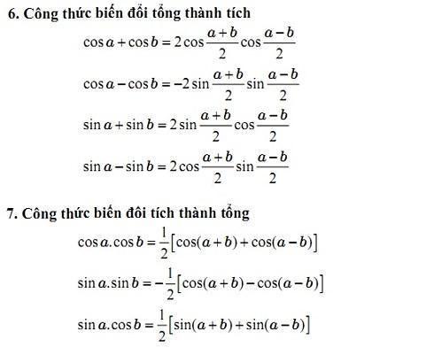 Nên tham khảo công thức lượng giác ở đâu hợp lý?