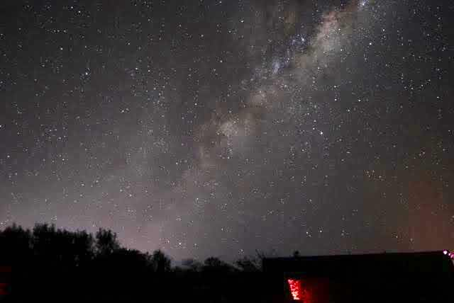 Milky Way image taken from the Atacama Desert, 30 seconds, 200mm (Source: Palmia Observatory)