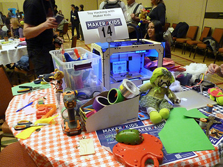 Maker Kids Toy Hacking Space