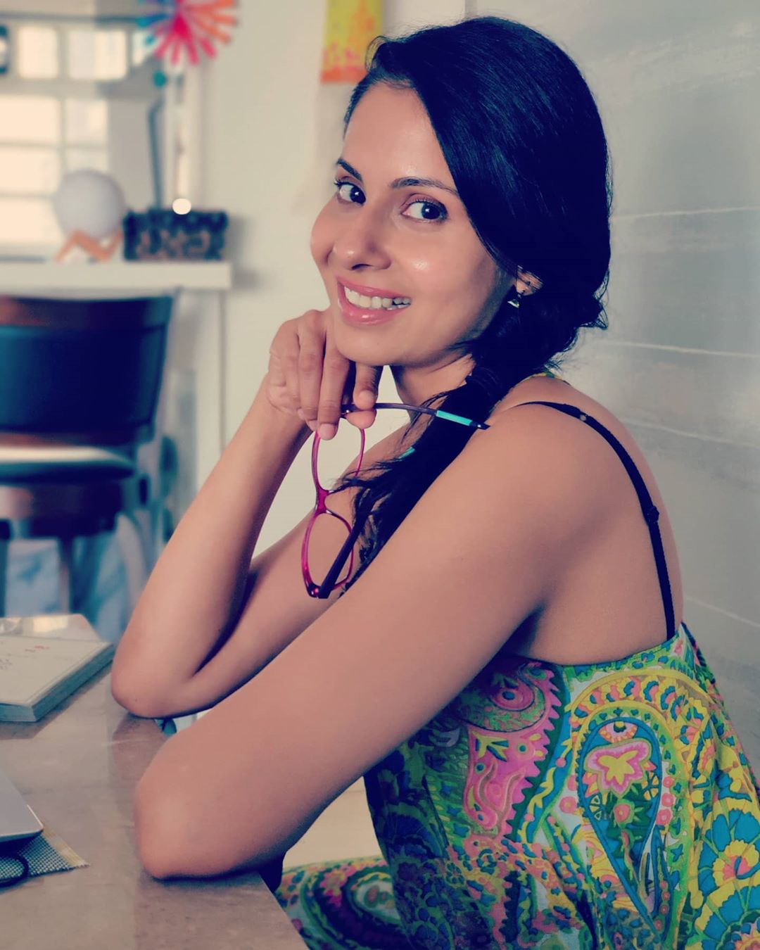 Chhavi Mittal, an Indian film and television actress, co-founder of Shitty Ideas Trending(SIT), a digital production company.