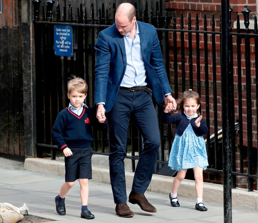 Image result for royal siblings visiting hospital